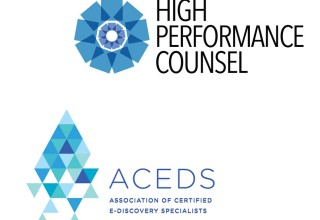High Performance Counsel Media Group & ACEDS Legal Media Partnership