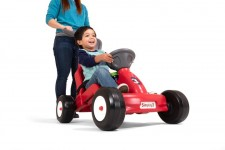 Fold & Go Rally Racer with boy
