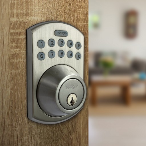 Reagle Launches Homekit Compatible Smart Deadbolt Lock