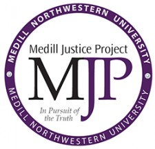 The Medill Justice Project Logo