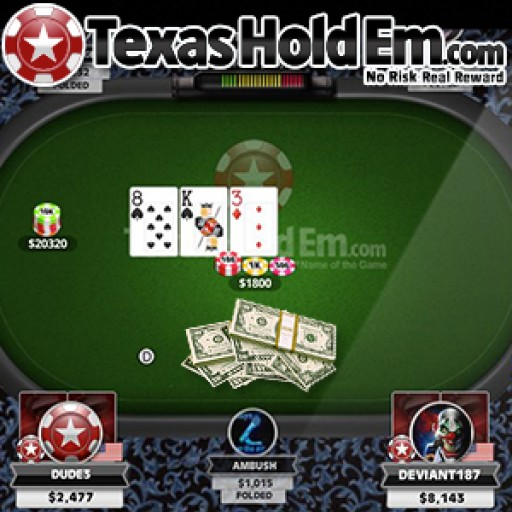 TexasHoldEm.com Partners with PocketFives, FanDuel and Blind Squirrel