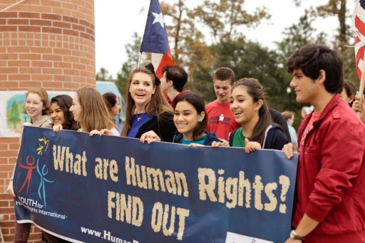 Annual Human Rights Walk in The Woodlands, Texas