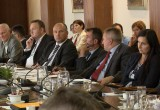 Kristjan Verbic at the meeting of the Commission for Public Finance Control