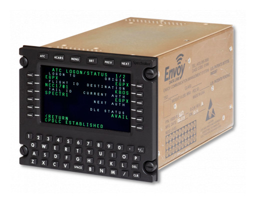 Air Wisconsin Selects Spectralux Envoy Data Link System for CRJs