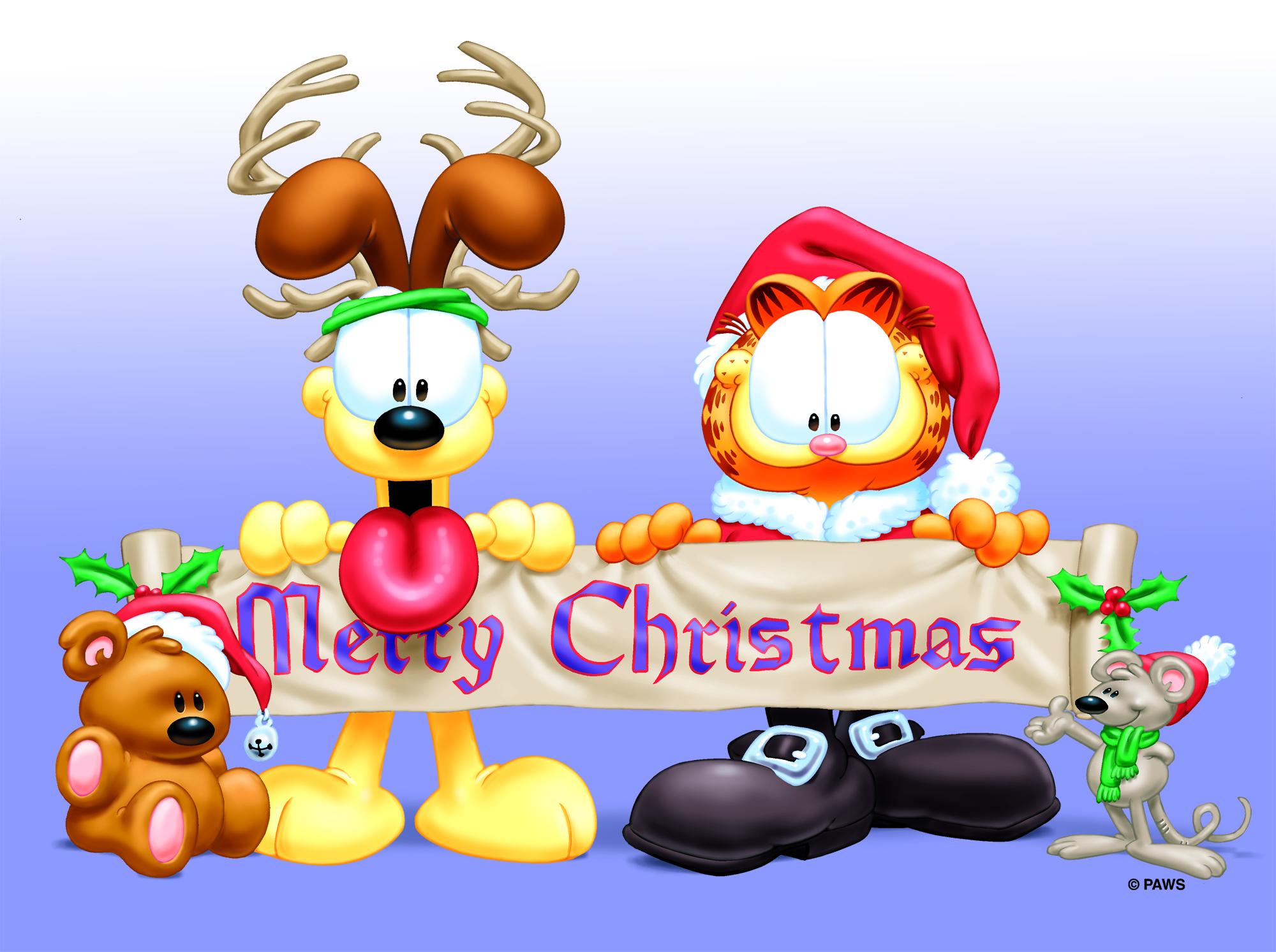 Garfield Christmas.Milestone Events Announce A Garfield Christmas National