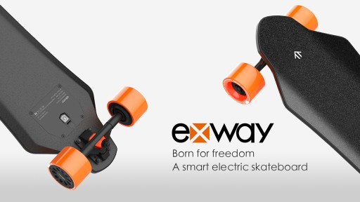 exway Sets Riders Free With Their Remote Activated, High Performance, Electric Skateboard