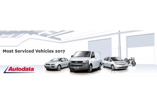 Most Serviced Vehicles of 2017 Banner