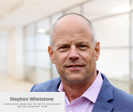 BRITE Discovery Appoints Stephen D. Whetstone, Esq. as New CEO