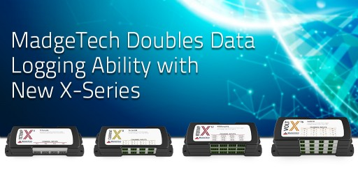 MadgeTech Doubles Data Logging Ability With New X-Series