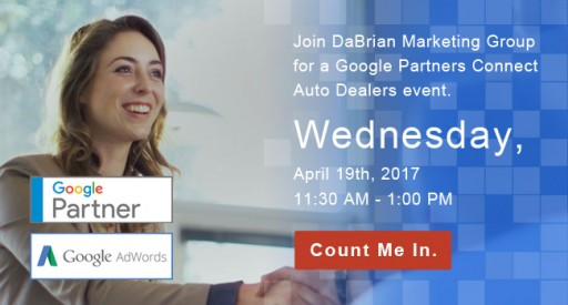 Google Partners Event Auto Dealers Event