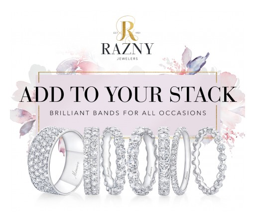 On March 14 and 15, Razny Jewelers Will Be Holding Their Annual Wedding Band Weekend Event