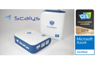 Scalys TrustBox CES award and Azure certified
