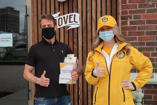 With Kansas in the Red Zone, Scientology Volunteer Ministers Urge Prevention