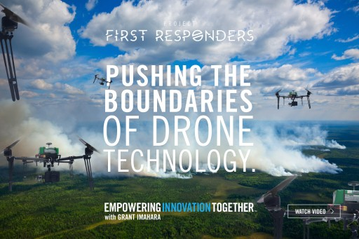 Mouser Electronics and Grant Imahara Partner With Easy Aerial to Develop a Unique Search and Rescue Drone Platform