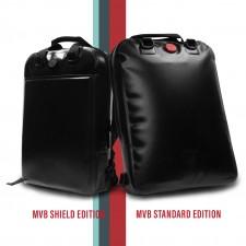 MVB Life & Living Backpack v2.0 and the SHIELD Edition.