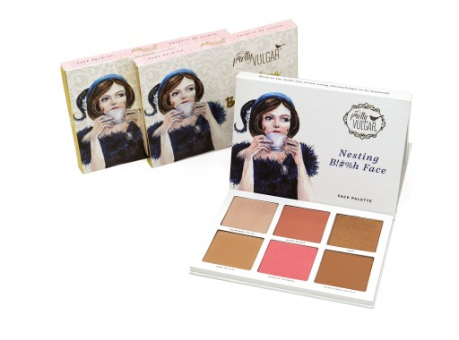 Pretty Vulgar Launches Nesting B!#%h Face Palette With Tik Tok Superstar Madi Monroe