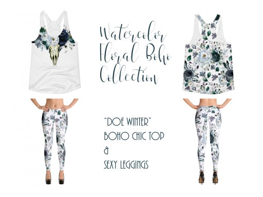 SunRaeBaby Grand Opening Featuring the Watercolor Floral Boho Collection