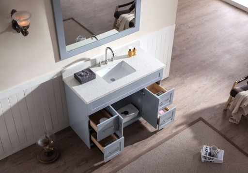 Polaris Expands Their Range with Custom Line of Bathroom Vanities