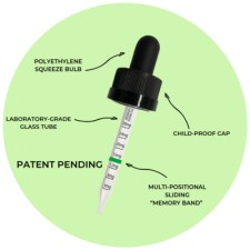 GREENPATH™ Science scientifically calibrated dropper technology, provides the greatest benefit of CBD at the greatest value