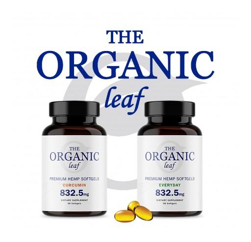 The Organic Leaf Adds Premium CBD Softgels Into Its Product Line