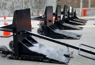 Portable vehicle barriers