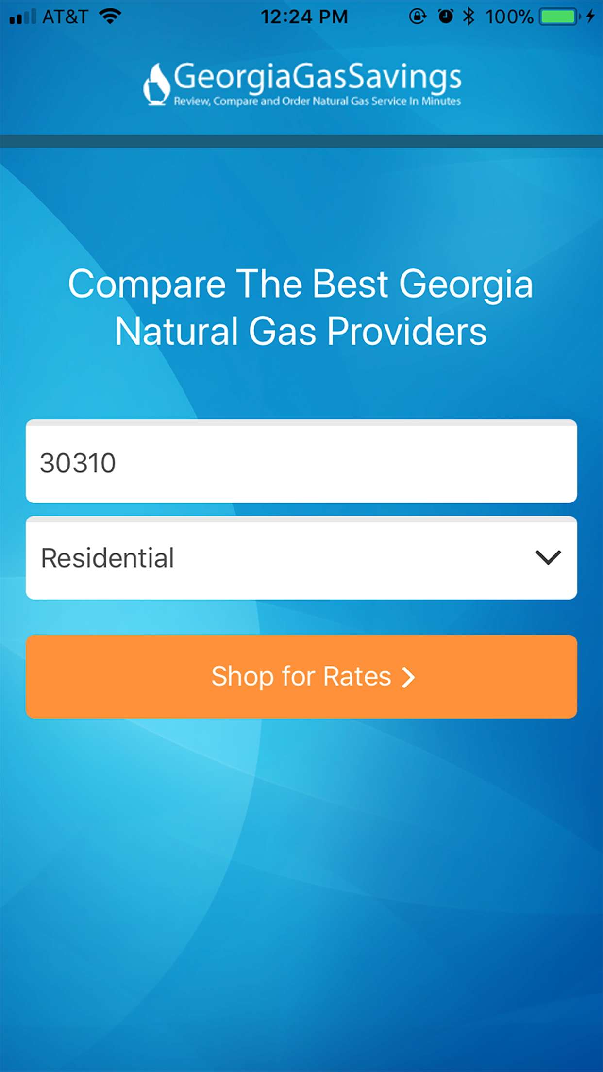 Georgia Gas Savings Launches Georgia Natural Gas Mobile