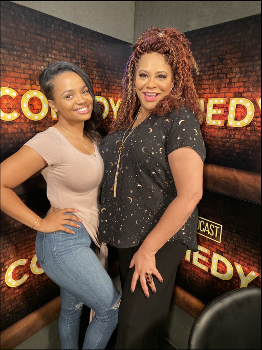 Kyla Pratt Appears on 'Kim Coles: Humor and Heart' at the Digital Podcast Network