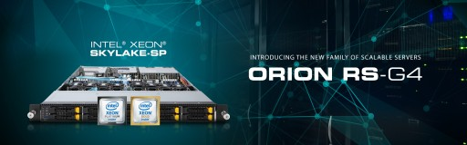 CIARA Announces Immediate Availability of ORION RS Servers  Featuring Intel® Xeon® Processor Scalable Family (Skylake-SP)