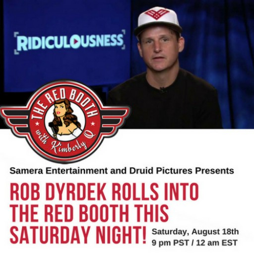 Rob Dyrdek Rolls Into THE RED BOOTH This Saturday Night!