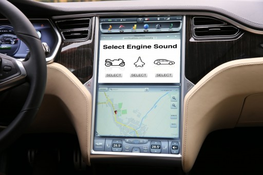 The Tesla Model S Can Now Have the Rumble of a Gas Engine With Help From Mutual Mobile