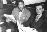 "Founders of ACOA ""American Comittee On Africa"" Bayard Rustin, George Houser"