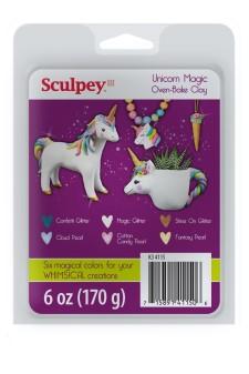 Limited Edition Sculpey III Unicorn Magic Clay Set