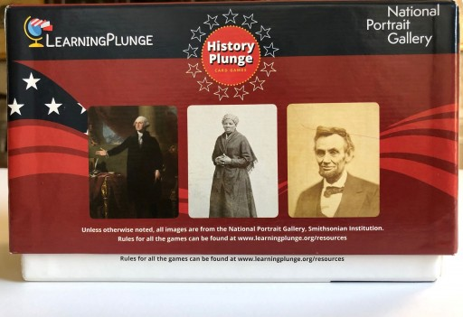 LearningPlunge and the Smithsonian's National Portrait Gallery Launch U.S. History Game, HistoryPlunge™
