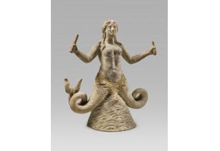 Greek Terracotta Skylla - Hicham Aboutaam