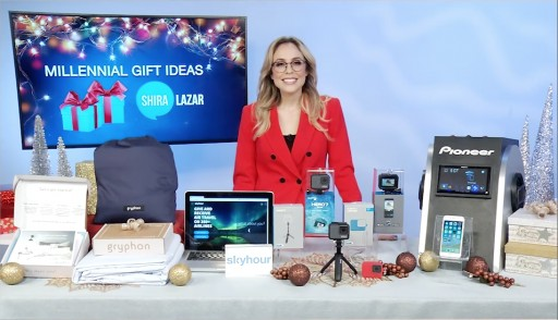Social Media Expert Shira Lazar Shares Her Holiday Gift Suggestions for Millennials on Tips on TV Blog