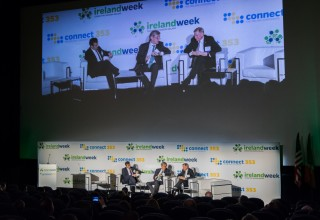 IrelandWeek welcomed Irish Minister of State Michael D'Arcy TD, Ambassador Dan Mulhall and Causeway Capital President Harry Hartford