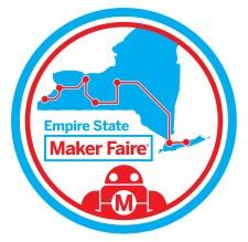 Empire State Maker Faire Badge