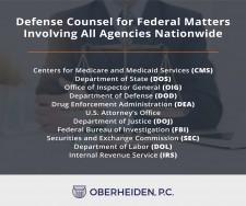 Defense Counsel For Federal Matters