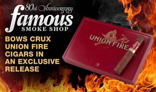 Famous Smoke Shop Debuts Crux Union Fire Cigars in an Exclusive Release