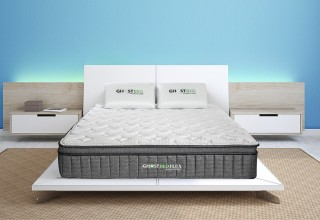 GhostBed Flex - Springy Support & Cooling Comfort