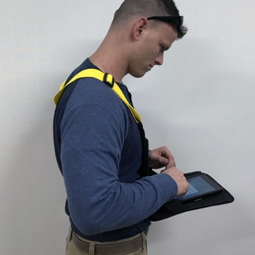 Innovative Safety Vest Provides Instant Hands-Free Access to Computer Tablet