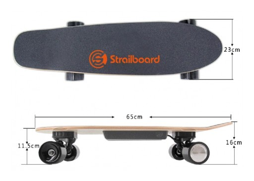 Electric Longboard 28-Inch Strailboard Mini - the Best Electric Skateboard Choice for Kids