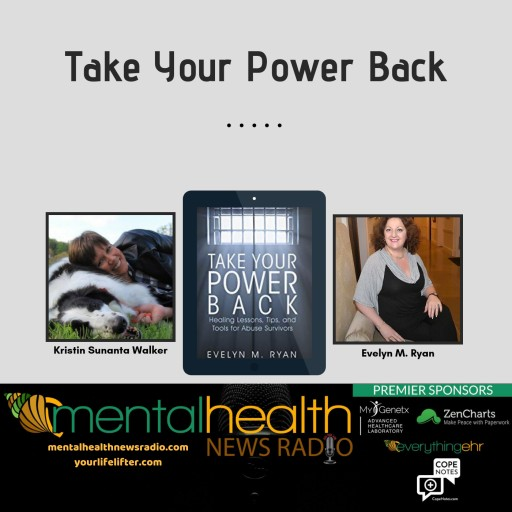 Certified Life Coach, Best-Selling Author and Abuse Recovery Expert Evelyn Ryan Joins Mental Health News Radio Podcast as Segment Co-Host