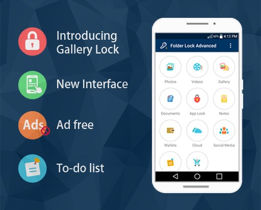 Folder Lock Advanced App for Android Goes AD FREE in the Newest Update