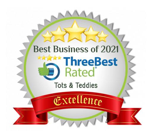 Raffles Place's Leading Preschool, Tots & Teddies, Wins the 2021 ThreeBestRated Award