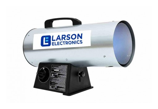 Larson Electronics Releases Portable Forced Air Heater, 40,000 BTUs, 300 CFM, Propane, 10-Foot Hose