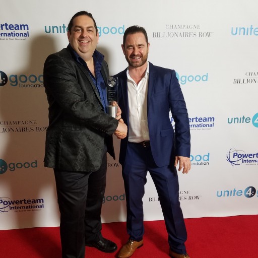 Walter O'Brien Youngest Recipient of Humanitarian Lifetime Achievement Award at 2017 Unite4:humanity Gala