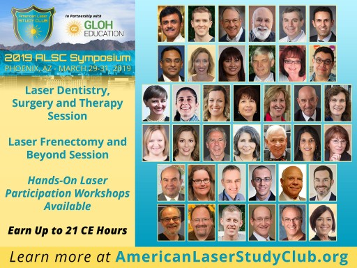 Laser Dentistry and Frenectomy Sessions at the 2019 ALSC Symposium