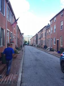 Baltimore City Street