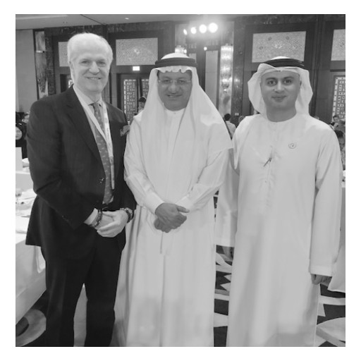 Dr. Steven Victor, CEO, Medical Director of ReGen Medical Has the Honor of Meeting HE Humaid Al Qutami, Director General of the DHA  and Dr. Marwan Al Mulla, CEO of Health Regulation Sector at the 13th International Conference on Medical Regulation